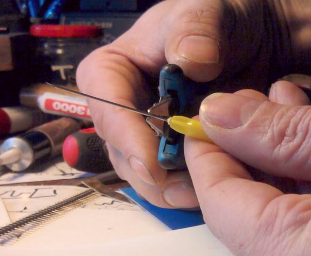 Needles cutting